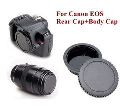 Body and Rear Lens Cover Cap for Canon EOS 650D 700D 60D 70D 7D 6D 5D III 100D DSLR