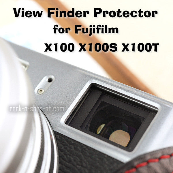 [Larry Gadget Store] Customize View Finder Protector Film for Fujifilm X100 X100S X100T