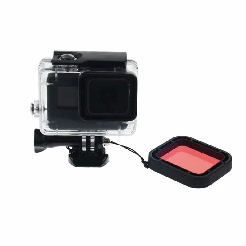 Red Underwater Diving Filter for Gopro Hero 5 Black