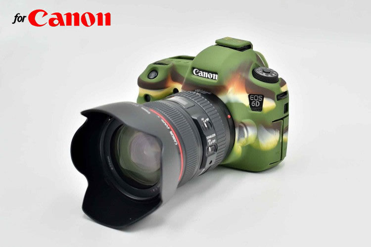 Silicone Rubber Case for Canon 6D