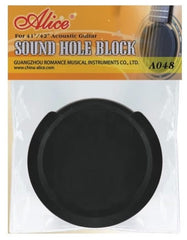 Alice A048A 41/42 Inch Guitar Sound Hole Cover Block Silencer