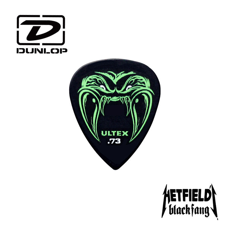 Dunlop Metallica James Hetfield Black Fang Guitar Picks (original)