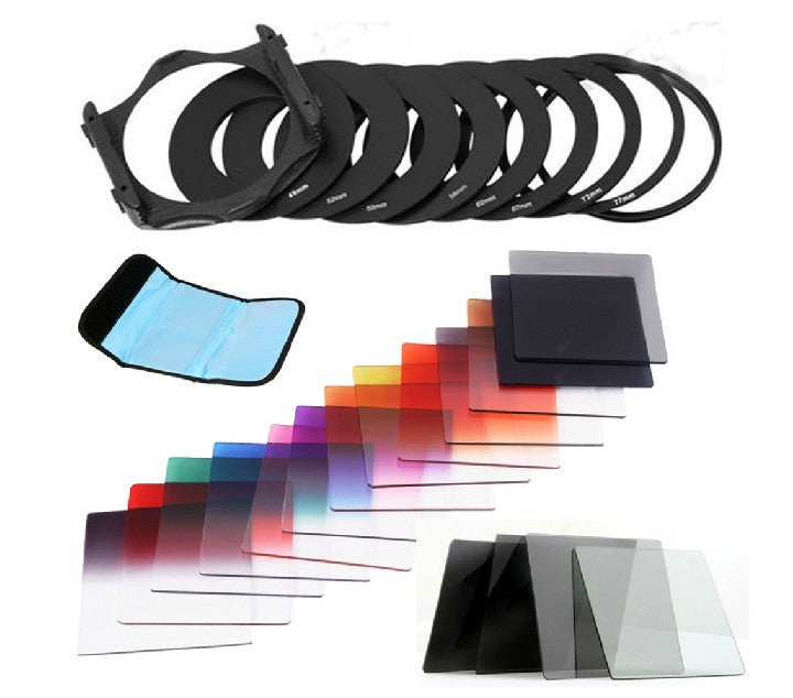 Color Filter Set (Pouch, Mount, Holder, Mount, 6pcs Color Filter)