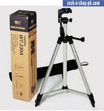Weifeng WT-330A Portable Lightweight Tripod Stand 3-Section Aluminum Legs