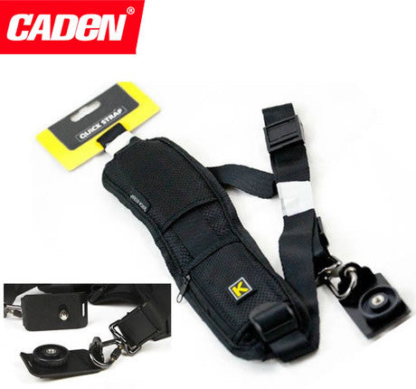 Caden K FastGunman Quick Rapid Anti-slip Camera Strap