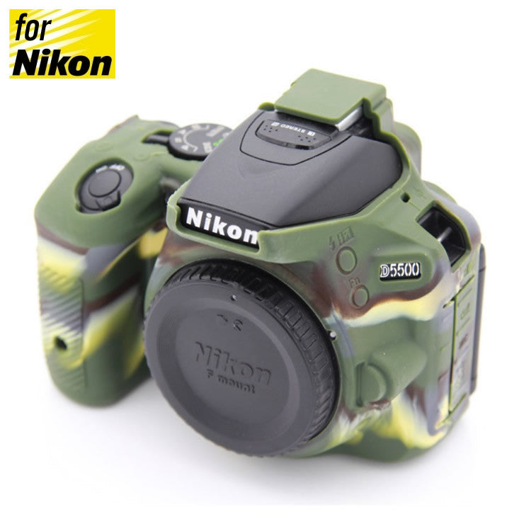 Silicone Rubber Case for Nikon D5500