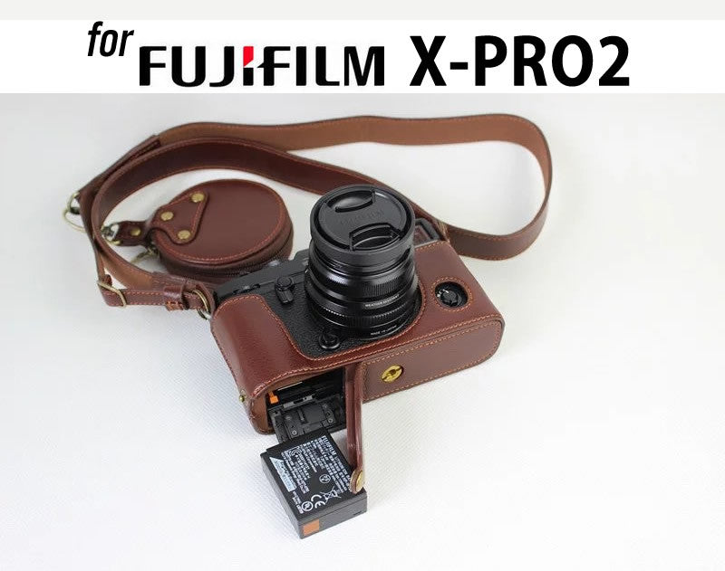 Genuine Leather Half Case for FujiFilm X-PRO2