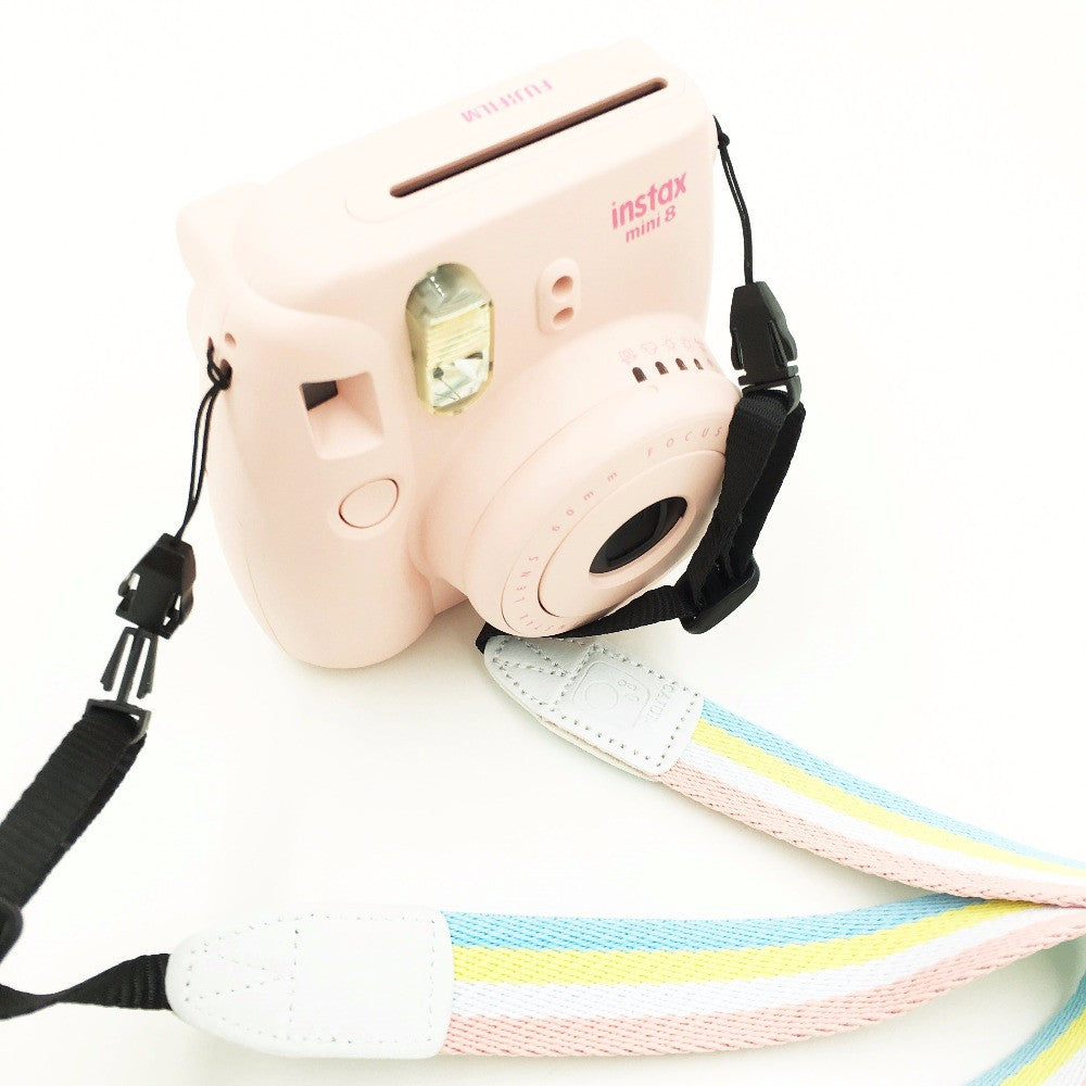 Colourful Camera Strap for Fujifilm Instax Mini