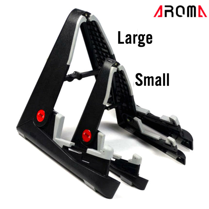Aroma AGS-01 Foldable Guitar Stand for Guitar, Ukulele, Violin
