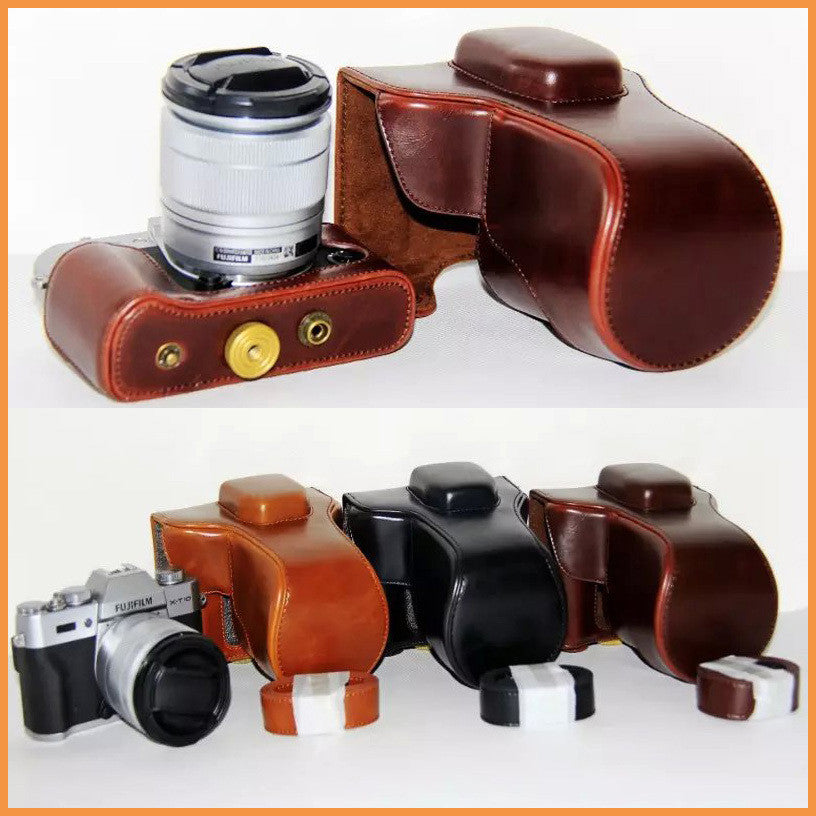 Leather Case Holster for Fujifilm X-T10 X-T20