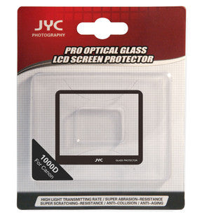 JYC Camera Glass LCD Screen Protector Cover Film for Canon 1000D