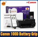 DSTE 100DH Battery Grip + Remote Control for Canon 100D