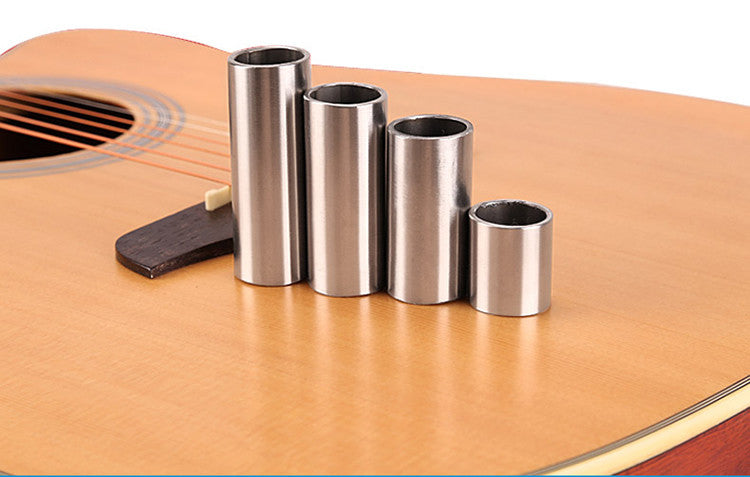 Chrome-plated Stainless Steel Metallic Electric Guitar Slide
