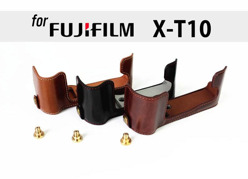 Leather Half Case for FujiFilm X-T10 X-T20 (version 2)
