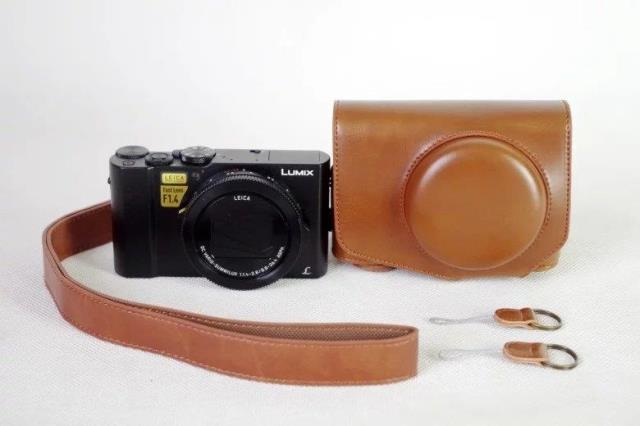Leather Case for Panasonic Lumix LX10