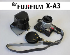 Genuine Leather Case Holster for Fujifilm X-A3 X-A10