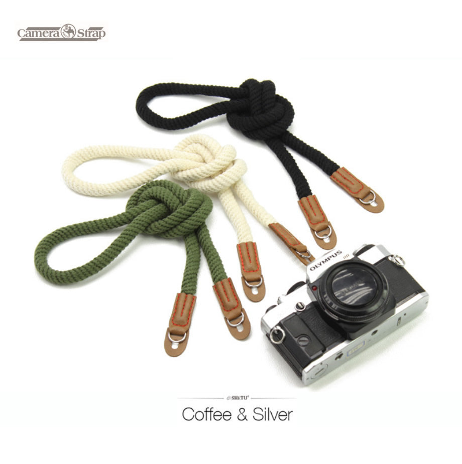 Cotton Weave Camera Strap for Mirrorless Camera