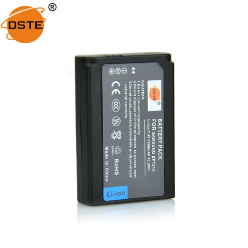 DSTE BP1310 1800mAh Battery and Charger For Samsung NX100 NX5 NX11 NX20