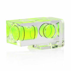 Camera Hot shoe Bubble spirit level Double 2 axis Gradienter for Canon Nikon