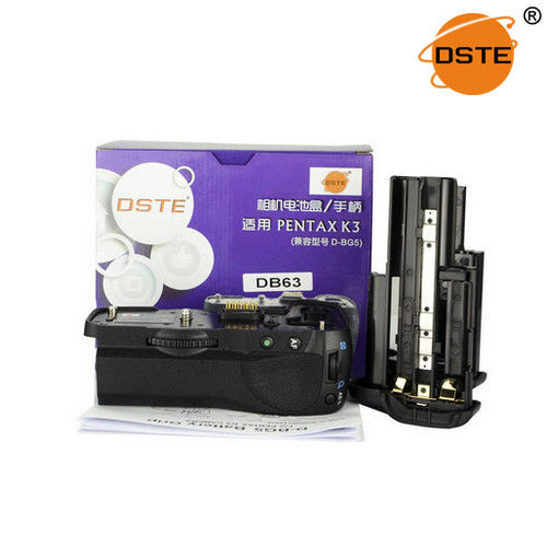 DSTE D-BG5 Battery Grip for Pentax K3