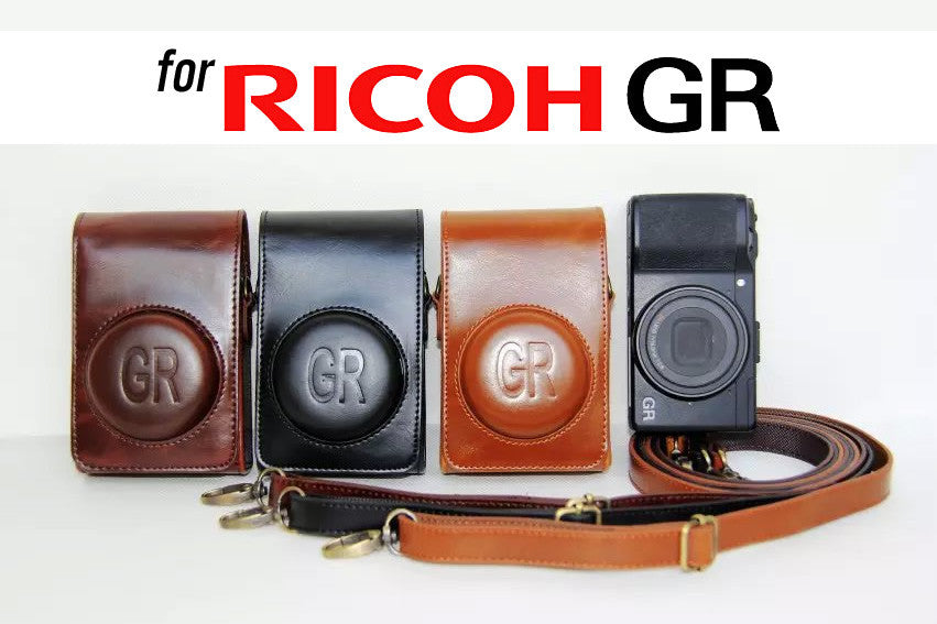 Leather Case Holster for Ricoh GRII GR