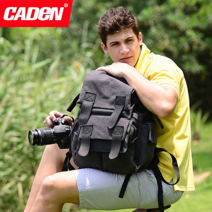 CADEN M5 Camera Bag Backpack for Canon Nikon Sony DSLR 5d2 Tablet PC
