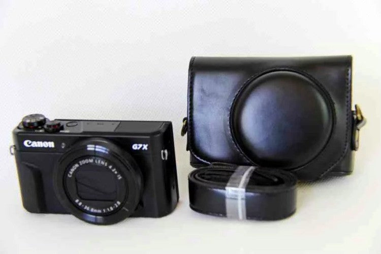 Leather Case Holster for Canon Powershot G7XII G7X Mark2
