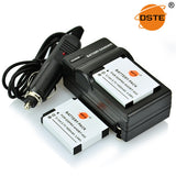 DSTE AHDBT-002 1600mAh Battery and Charger for GoPro HERO2