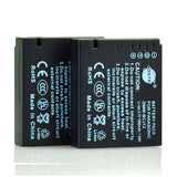DSTE DMW-BCJ13 1,900mAh Battery and Charger for Panasonic Leica DC10 LUX5 LX5