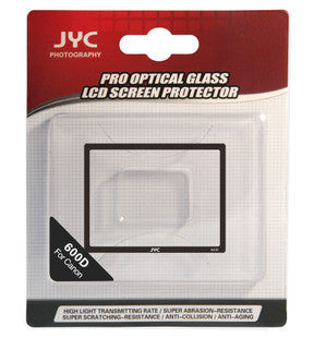 JYC Camera Glass LCD Screen Protector Cover Film for Canon 600D