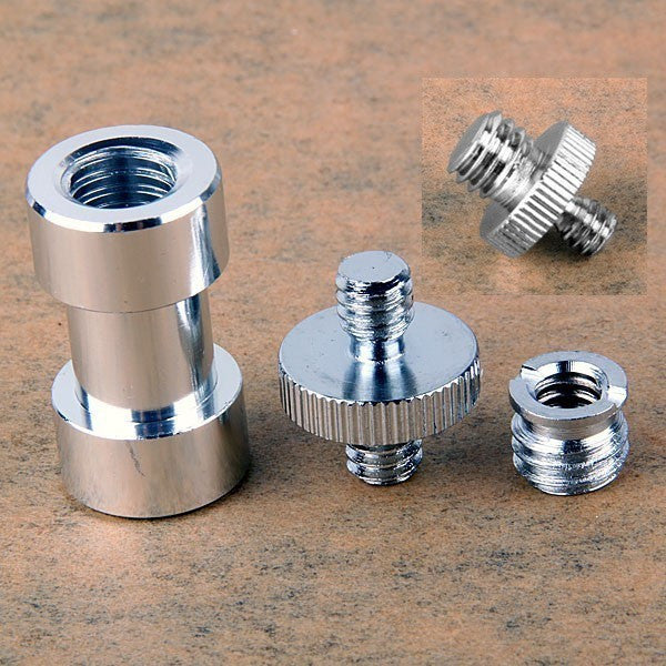 "1/4"" and 3/8"" screw Spigot Stud convert Adapter"
