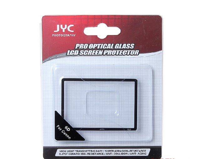 JYC Camera Glass LCD Screen Protector Cover Film for Canon 6D