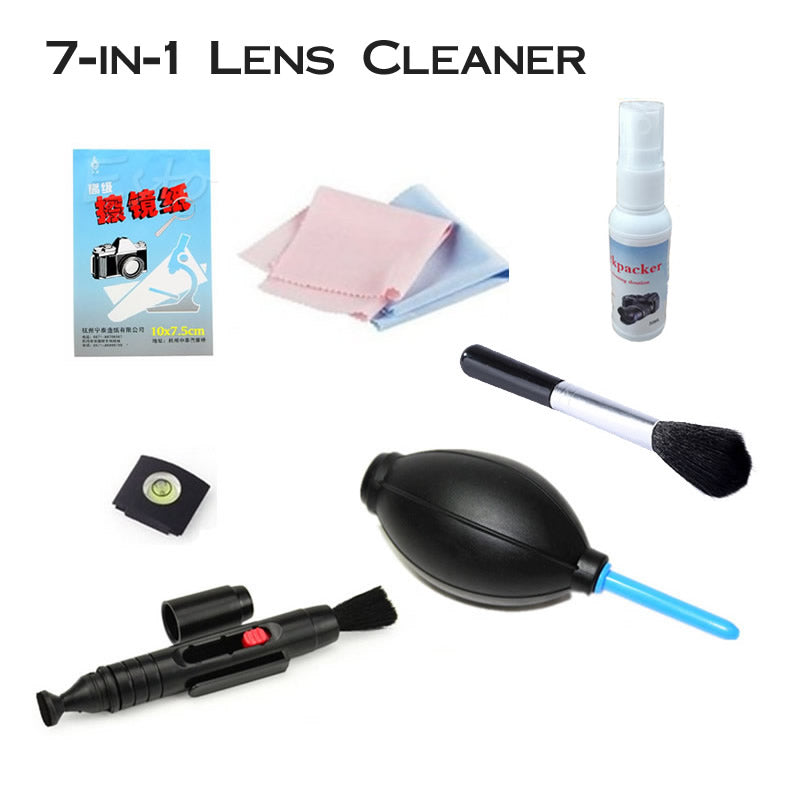 7-in-1 Camera Lens Cleaning Kit