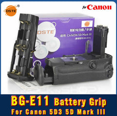 DSTE BG-E11 Battery Grip For Canon 5D Mark III 5D3