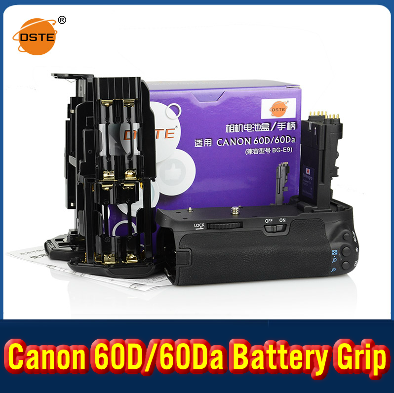 DSTE BG-E9 Battery Grip For Canon 60D