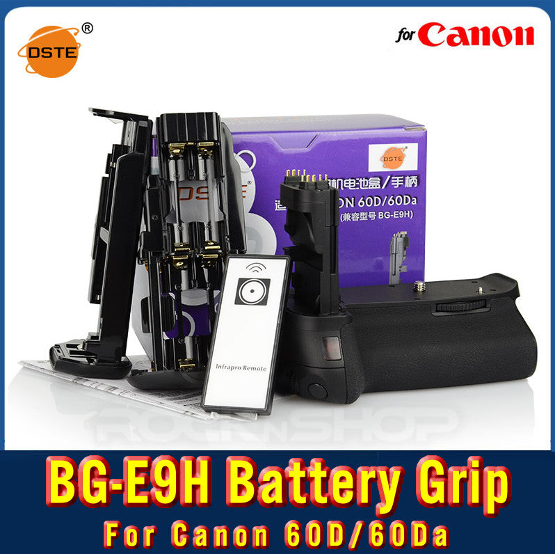 DSTE BG-E9H Battery Grip For Canon 60D