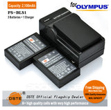 DSTE BLS-1 2100mAh Battery or Charger For Olympus EPM1 PS-BLS1