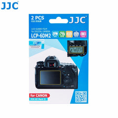 JJC LCD Guard Film For Canon 6D Mark II