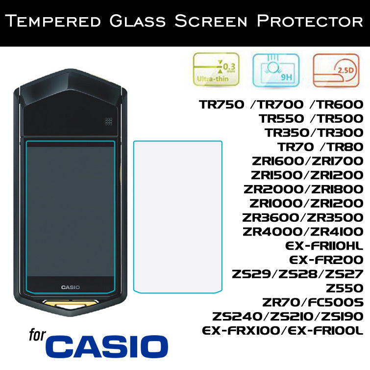 Tempered Glass Screen Protector for Casio