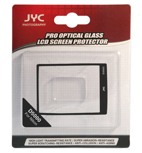 JYC Camera Glass LCD Screen Protector Cover Film for Nikon D5000