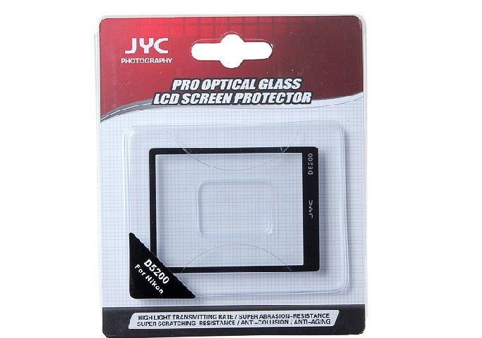 JYC Camera Glass LCD Screen Protector Cover Film for Nikon D5200