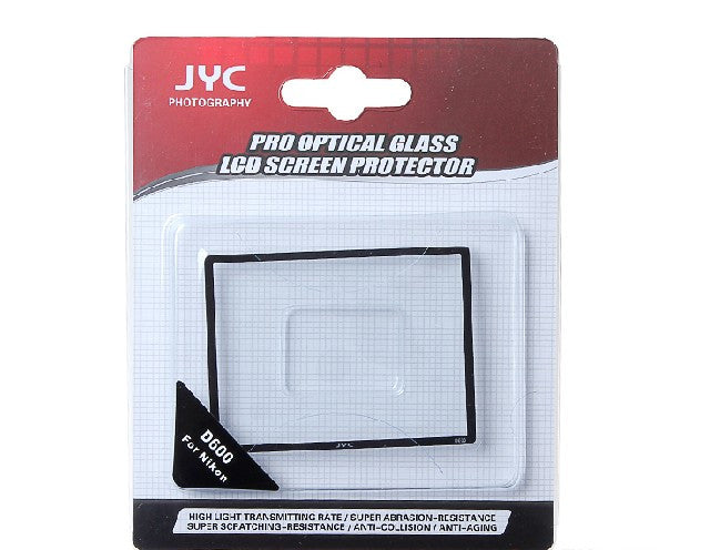 JYC Camera Glass LCD Screen Protector Cover Film for Nikon D600
