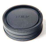 Body and Rear Lens Cover Cap for Sony E-Mount