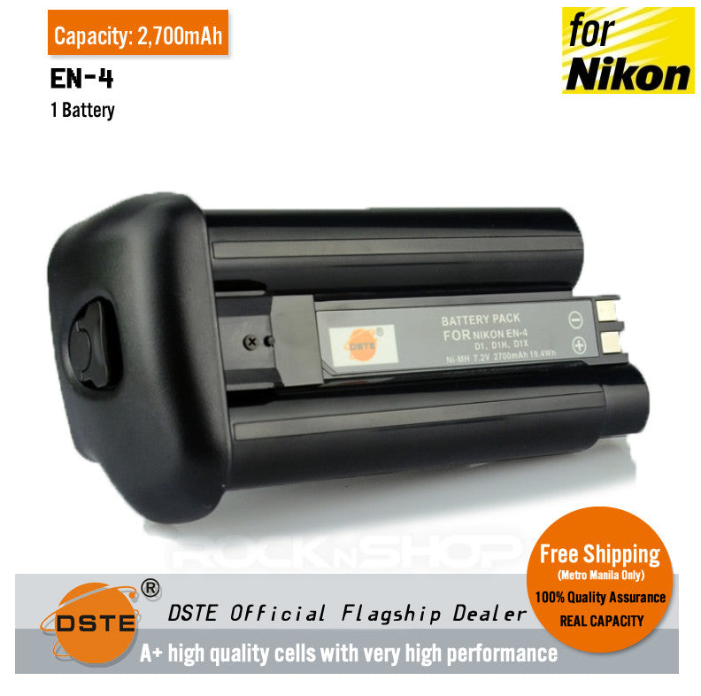 DSTE EN-4 2700mAh Battery for Nikon D1 D1H D1X