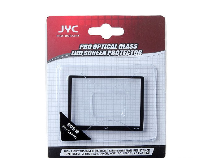 JYC Camera Glass LCD Screen Protector Cover Film for Canon EOS M