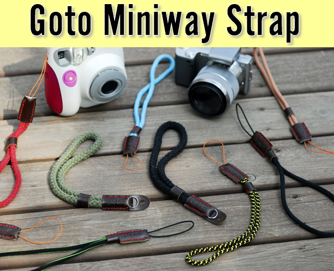Goto Miniway Camera Strap (version 1)