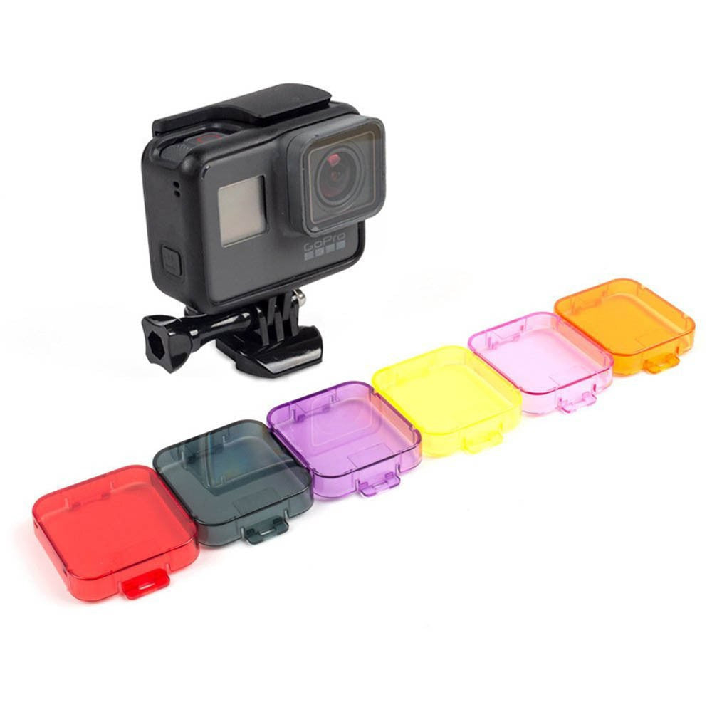 Colorful Switchable Diving Lens Filter for Gopro Hero 5