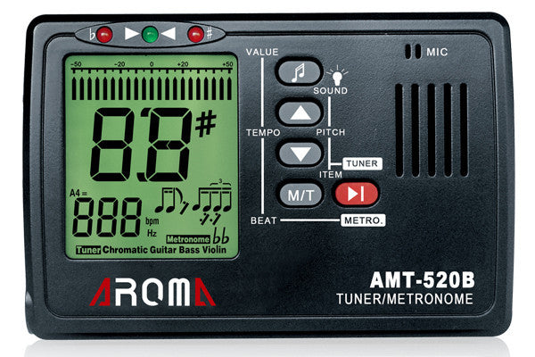 Aroma AMT-520B 3-In-1 Multi-function Tuner / Metronome