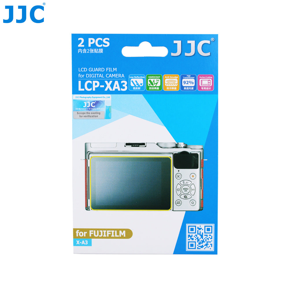 JJC LCD Guard Film for Fujifilm X-A3 X-A5