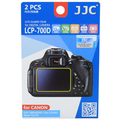 JJC LCD Guard Film for Canon 750D/700D/650D , Kiss X8i/X7i/X6i, Rebel T6i/T5i/T4i
